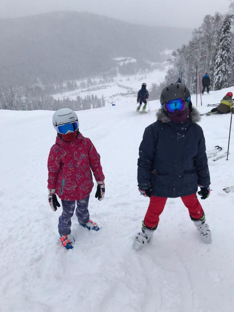 Наши горнолыжники на «Открытом Первенстве Таштагольского района».