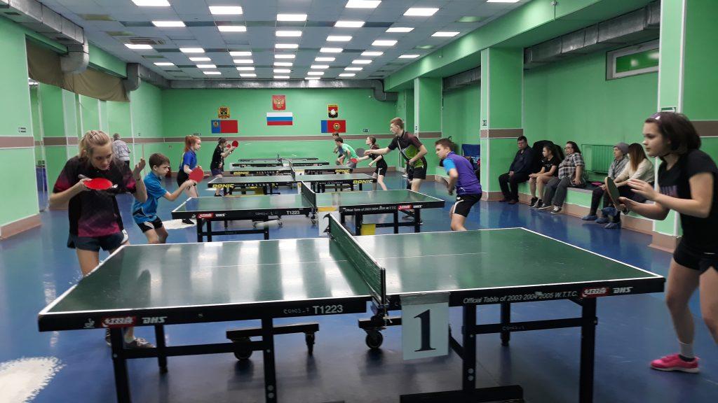 Первенство г. Кемерово по 2-й детско-юношеской лиге по настольному теннису посвященного 75-летию победы в ВОВ.
