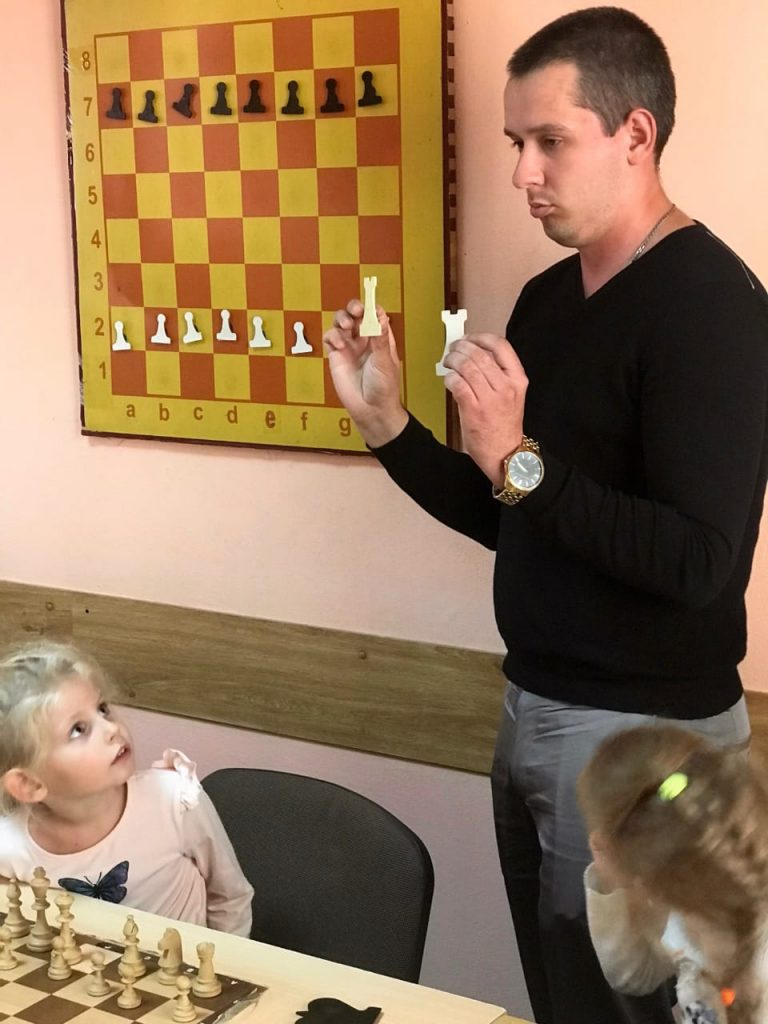 Объявляется набор в Городской шахматный клуб им. М.И. Найдова