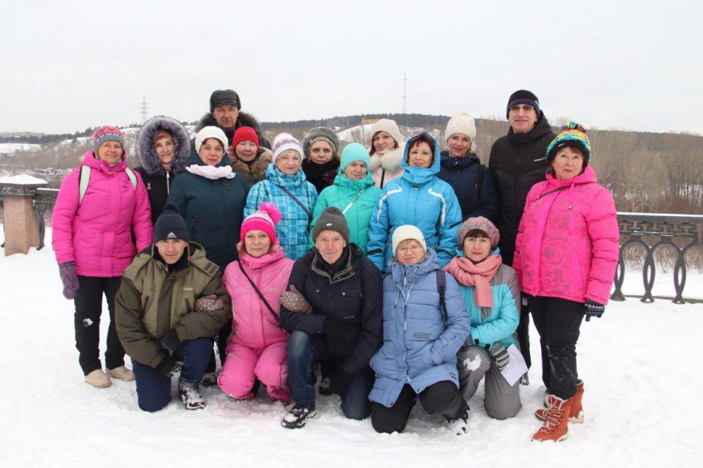 Команда «Сибиряк-Кузбасс» - победитель соревнований по фоновой ходьбе «Человек идущий» среди объединений пенсионеров