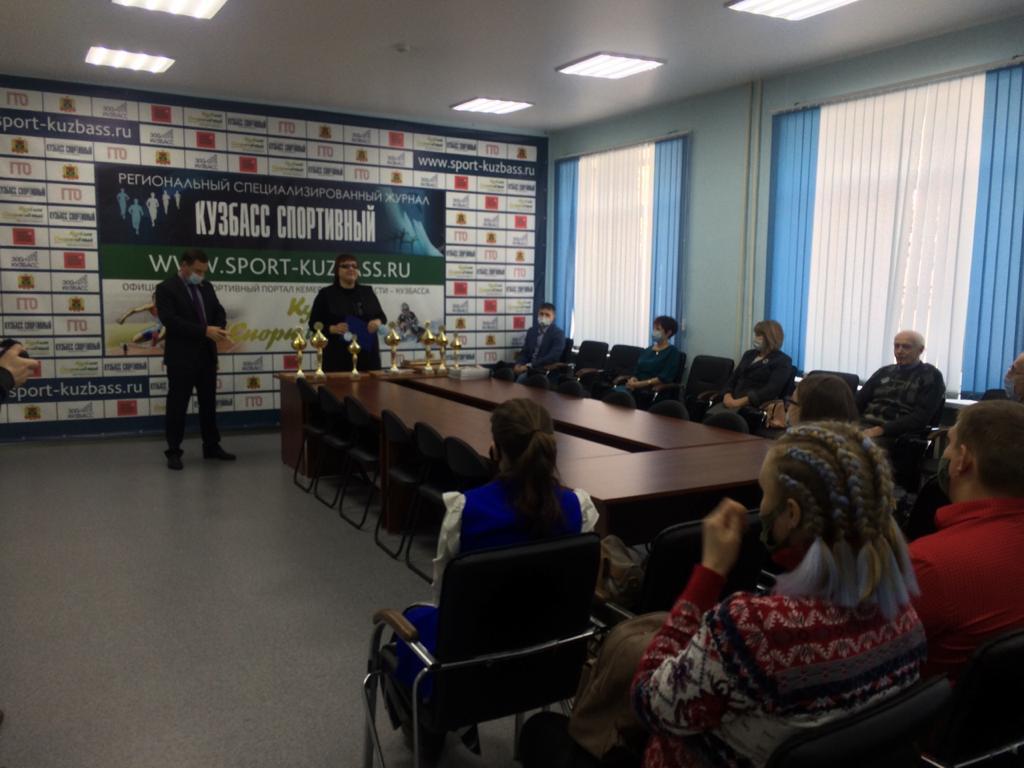Команде «Сибиряк-Кузбасс» вручили награды всероссийского проекта