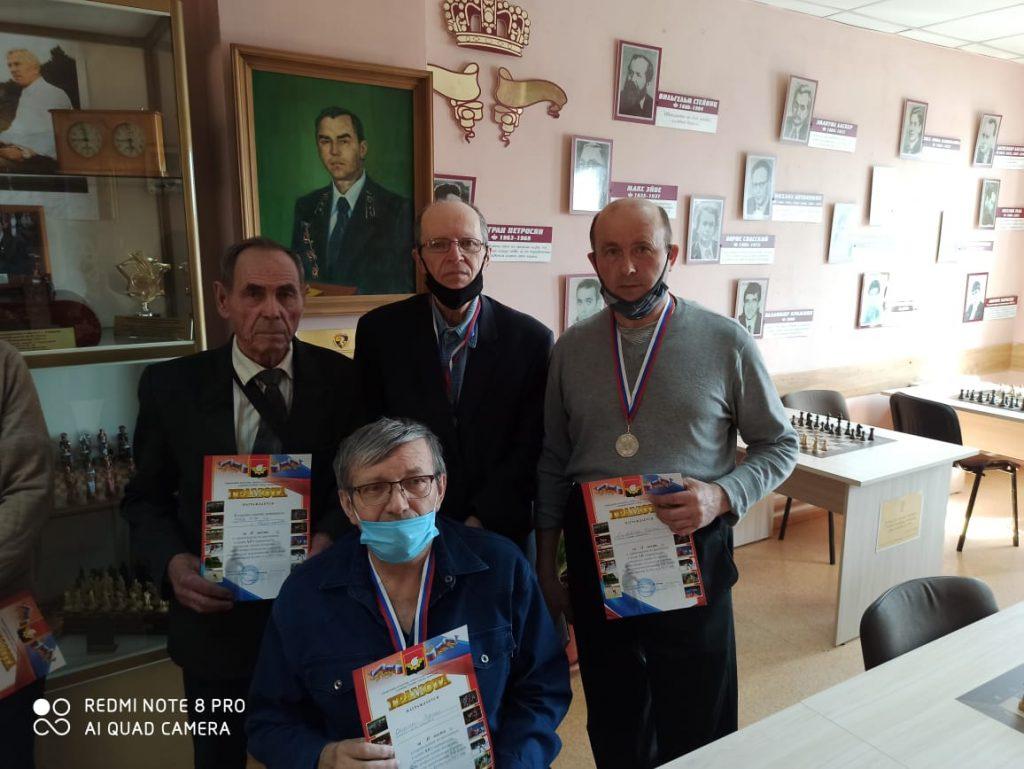 11 апреля 2021 года в Городском шахматном клубе им. М.И. Найдова прошли соревнования по шашкам среди ветеранов (мужчины)