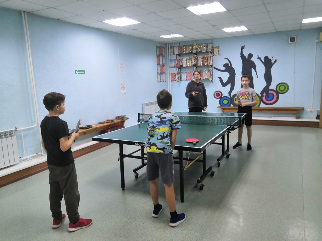 """1 октября 2021 года в клубе по месту жительства """"Слава"""" состоялся парный турнир по настольному теннису, посвященный Дню учителя"""
